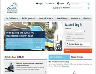 icmarc.org screenshot