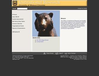 ir.missouri.edu screenshot