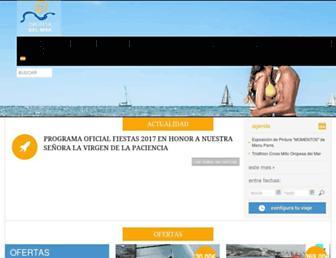 oropesadelmarturismo.com screenshot