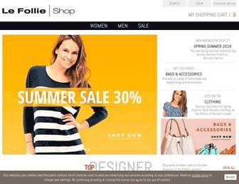 Thumbshot of Lefollieshop.com