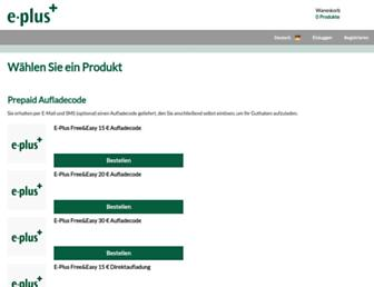 eplus.acprepaid.com screenshot