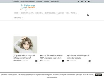 bebesyembarazos.com screenshot