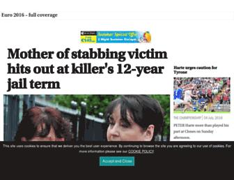 irishnews.com screenshot