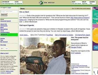 Thumbshot of Vim.org