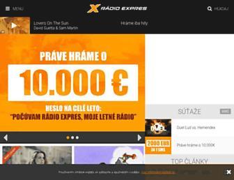 expres.sk screenshot