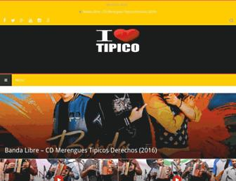 ilovetipico.com.do screenshot
