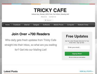 trickycafe.blogspot.com screenshot