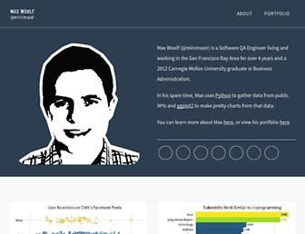 minimaxir.com screenshot