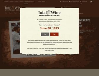 Thumbshot of Totalwine.com
