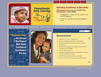pakeys.org screenshot