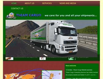theamcargo.com screenshot