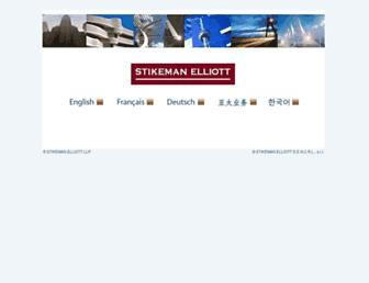 stikeman.com screenshot