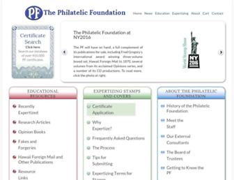 Thumbshot of Philatelicfoundation.org