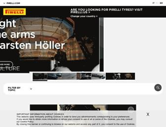 pirelli.com screenshot