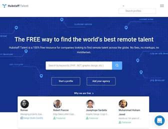 talent.hubstaff.com screenshot