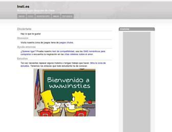 insti.es screenshot