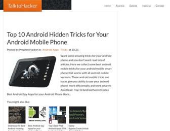 talktohacker.com screenshot