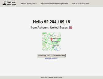 Thumbshot of Dnsleaktest.com