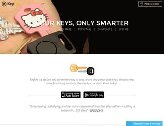 key.me screenshot