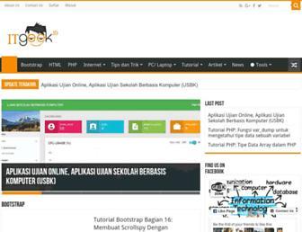 itgeek.id screenshot