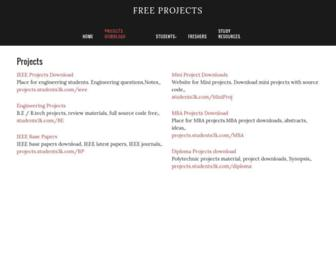 projects.students3k.com screenshot
