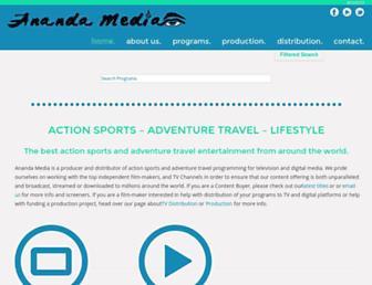 anandamedia.net screenshot