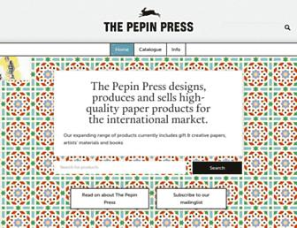 pepinpress.com screenshot