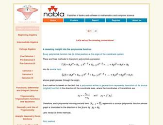 nabla.hr screenshot