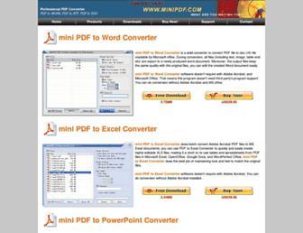 minipdf.com screenshot