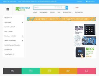 friendlyarm.com screenshot
