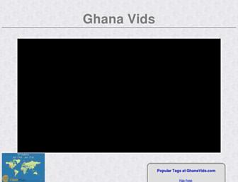 ghanavids.com screenshot