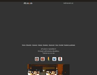 nahravani.cz screenshot
