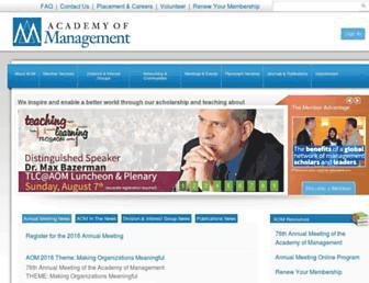 aom.org screenshot