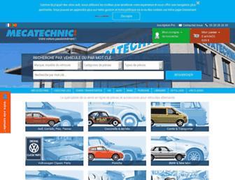 mecatechnic.com screenshot