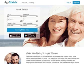 Thumbshot of Agematch.com