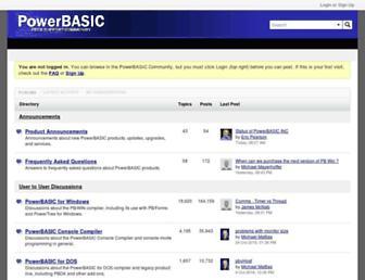 forum.powerbasic.com screenshot