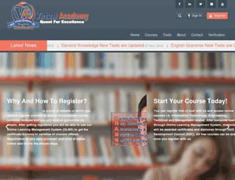 virtualacademy.pk screenshot