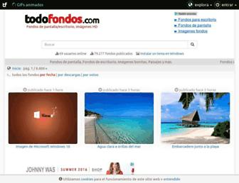 todofondos.com screenshot