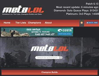 metalol.net screenshot