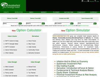 earnometer.com screenshot