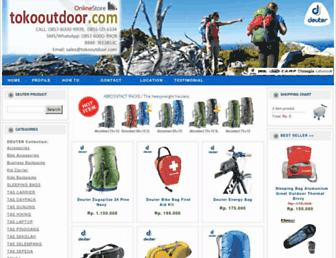tokooutdoor.com screenshot