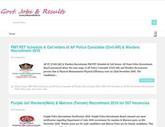 jobresultsite.in screenshot