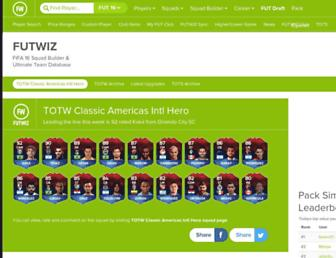 futwiz.com screenshot