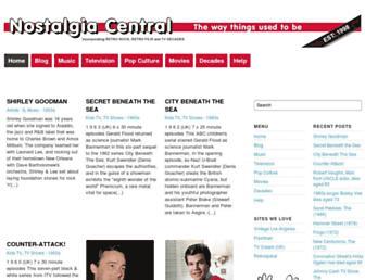 nostalgiacentral.com screenshot