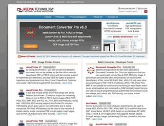 neevia.com screenshot