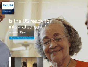usa.philips.com screenshot