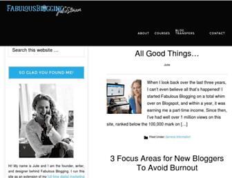 Thumbshot of Fabulousblogging.com