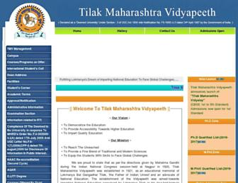 tmv.edu.in screenshot