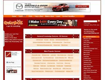 quizmoz.com screenshot