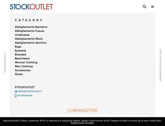 stockoutlet.it screenshot